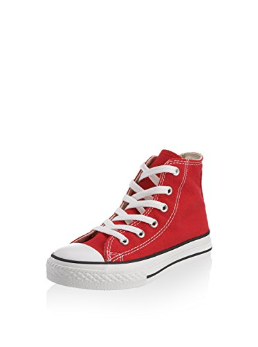 Converse CTAS-HI Youth Sneaker, Rot (Red), 30 EU