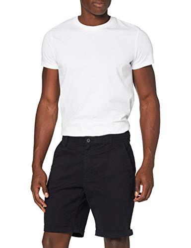 Marchio Amazon - MERAKI Pantaloni Regular Fit in Cotone Uomo, blu (navy), 38 (Taglia produttore: XL)