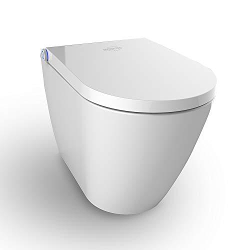 MEWATEC Marken Dusch-WC Komplettanlage Memphis Premium bodenstehend