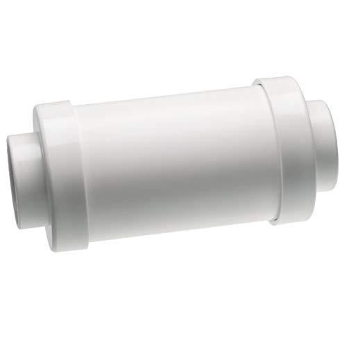 """vhbw Abluftschalldämpfer passend für Zentral-Staubsaugeranlagen mit 50.8mm Durchmesser / 2\"""" Rundrohrsystem"""