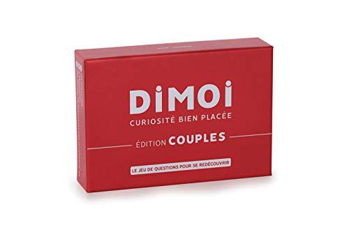 DIMOI Jeu de Couple 144 Cartes pour entamer des Conversations passionnantes et développer sa complicité Amoureuse
