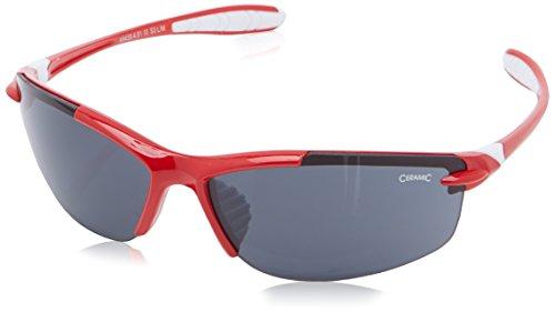 Alpina Unisex Fahrradbrille Glyder, Red/Black S3, A8433451