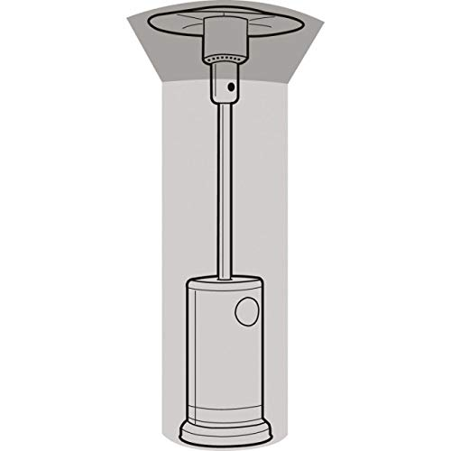 Girlande silber verandaheizung Abdeckung (Ø124cm, höhe 179cm)