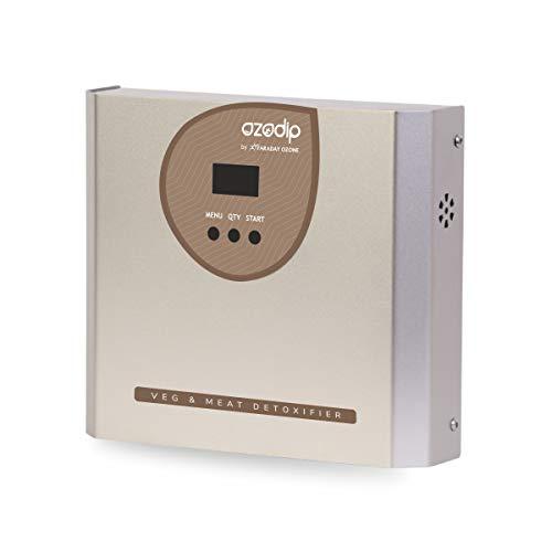 OZODIP 2DX Mini generador de ozono Esterilizador Purificador de Aire de ozono Máquina de desinfección de ozono para Eliminar olores y pesticidas domésticos,Limpiar Verduras, Frutas, Carnes, Pescados