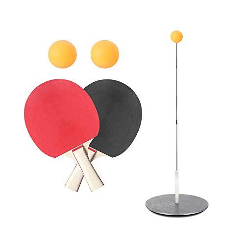 Entrenador De Tenis De Mesa Bola De Práctica De Tenis De Mesa De Rebote Con Eje Suave Elástico Herramientas De Entrenamiento De Ping Pong Para Jugar Al Aire Libre En Interiores, Coordinación D