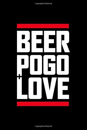 Beer pogo love: Beer Tasting Journal 6x9 111 pages