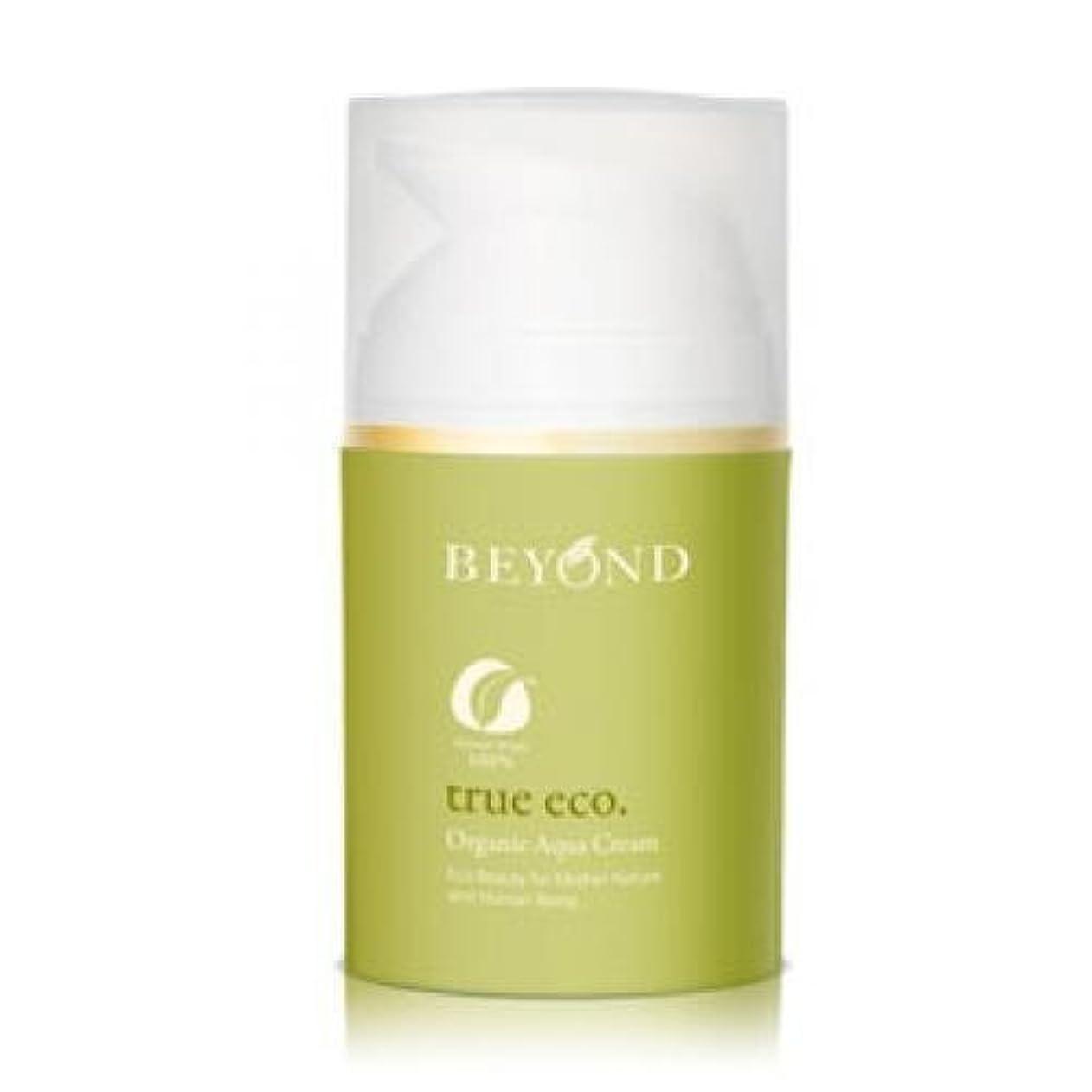 期限切れ適性通行人BEYOND True Eco Organic Aqua Cream [Korean Import]