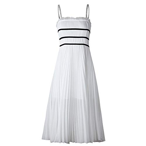 Vestido De Dama De Honor De La Boda Vestido sin mangas de...