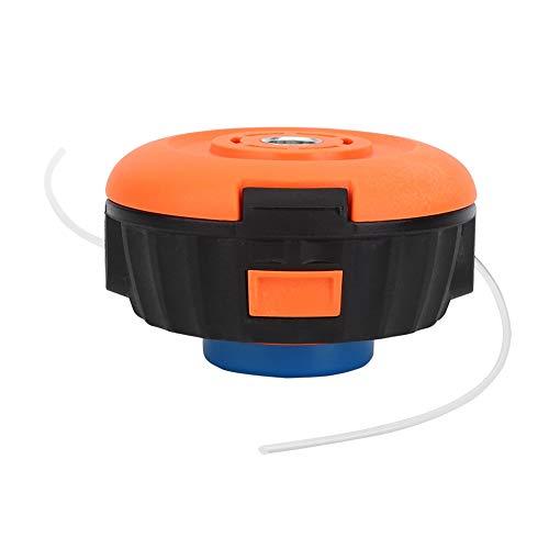 Longzhuo Cabezal de Corte, Cabezal de Corte de césped Azul Universal para Accesorios de cortacésped de Cepillo de Nailon H