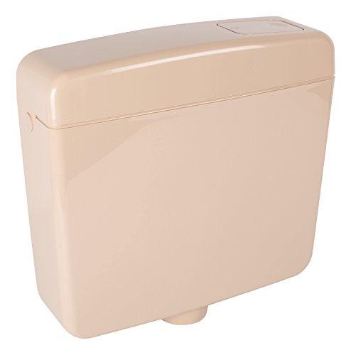Spülkasten Opal   Kunststoff   Spül-Stopp-Funktion   6-9 Liter   Tiefspülkasten   Beige