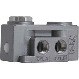 Bimba-Mead Air Valve N2-SP, 5 Port, 2 Pos, Single Pressure Pilot, 1/4
