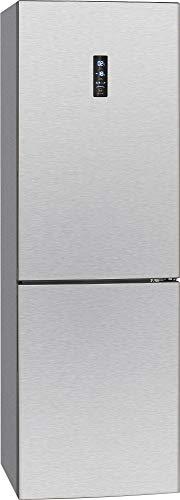 Bomann KG 7312 Kühl-/Gefrierkombination/A++ / 184 cm / 242 kWh/Jahr / 228 L Kühlteil / 92 L Gefrierteil/multiAirflow-System/Edelstahl-Optik