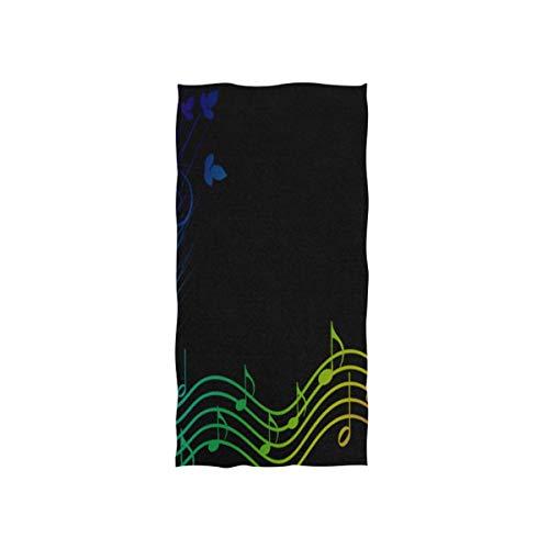 Wheatleya Rainbow Music Spectrum Pinterest Handtücher Ultraweiche Waschlappen aus Baumwolle