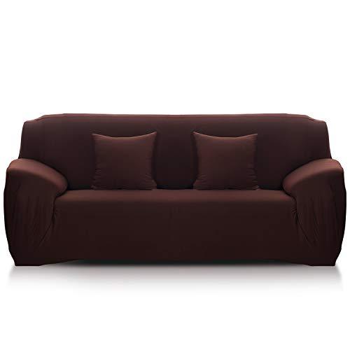Fashion·LIFE Funda de Sofá para Sofá de 1 Plaza Funda de sofá Elegante Lujo Spandex Sofá Cubierta…