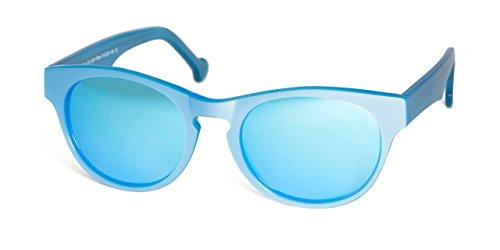 MUNICH ART FRAMES Gafas de sol redondas Pantera Light Blue Sun