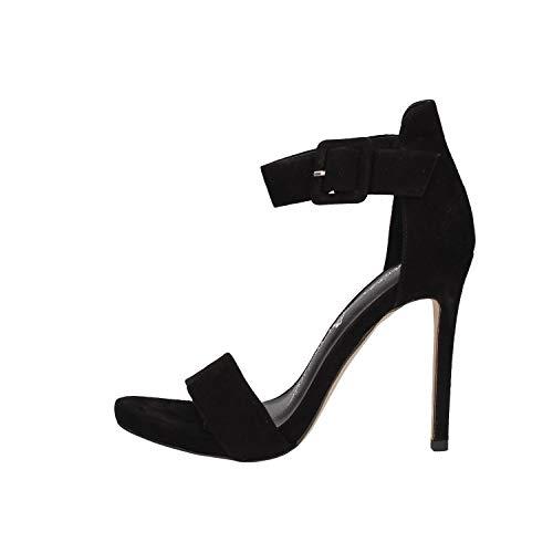 LUCIANO BARACHINI Cc681a Chaussures à Talons chèque Femme Noir 37