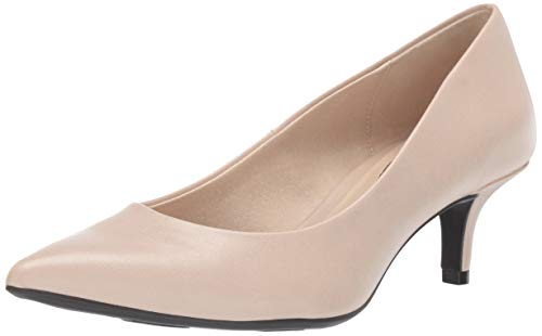 LifeStride Women's Pretty Low Heel Pump, Soft Taupe, 9.5 M US