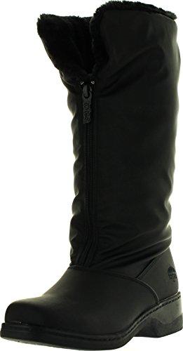 totes Women's Comfort Snow Boot, Black, 9