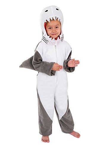 Hai Kinder Kostüm 98 - 104 für Fasching Karneval Kinderkostüm