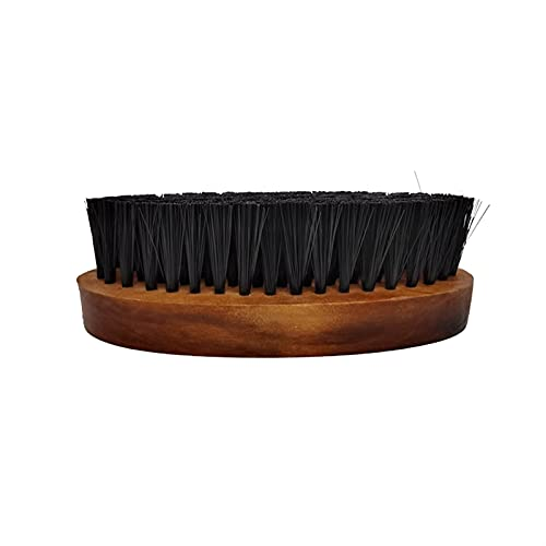 Cepillo de Zapatos, 11cm de Largo óvalo CLORURO DE POLIVINILO Cepillo de Zapato Products Hogar (Color : Brown)
