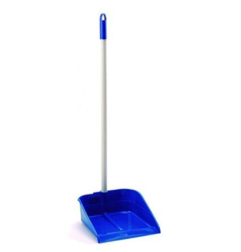 Maya 09021 - Recogedor básico con palo, color azul