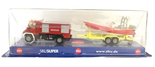 Siku SUPER - Unimog 'Rescue' mit Boot