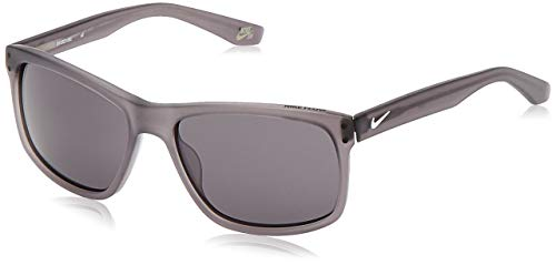 Nike EV1023-061 Flow Sunglasses (Frame Dark Grey Lens), Matte Anthracite