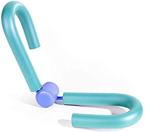 MXJFYY Oberschenkel Meister Oberschenkel Trimmer Bein Trainer Beckenboden Muskeltrainer Taille Trimmer Hintern Arm Brust Workout für Frauen, Heim Fitnessgeräte (Blau)