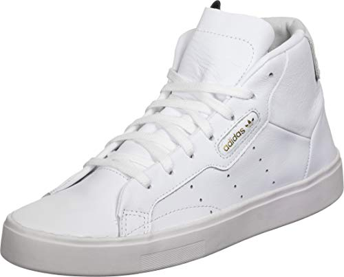 AdidasOriginals Sleek Mid Training Damen Gr.3½, Weiß