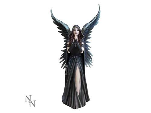 Figura de ángel de Anne Stokes de Anne Stokes – Figura decorativa de ángel de 27 cm, figura de hada Veronese gótico Némesis Now Fantasy Fairy Magic mágica mística espada espiritual regalo