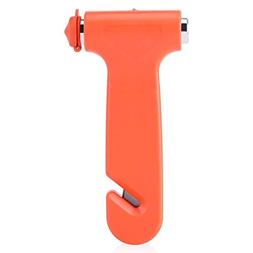 NIMOA Notausstiegsprogramm Tool - Sicherheits Hammer Notfall Rettungswerkzeug Auto Fenster Glasbrecher und Gurtschneider