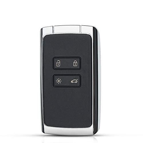 ASHDelk 4 Tasten Auto Keyless Entry Smart Fernschlüssel Shell Case Fob, Für Renault Megane 4 Koleos Talisman 5 Espace 5 Kadjar
