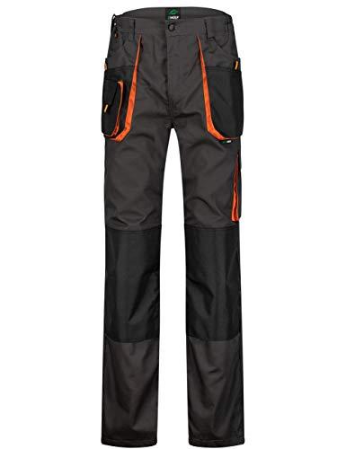 BWOLF Atlas Pantalon de travail classique pour homme avec poches multifonctions - Gris - Large