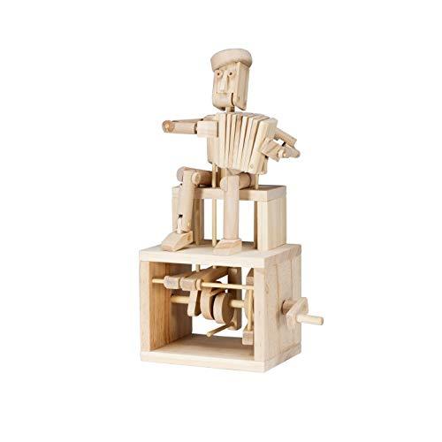Timberkits jugador del acordeón Autómata