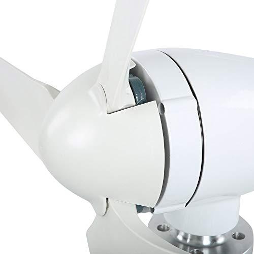 Generador de viento, generador de molino de viento, sin ruido para el sistema de viento solar híbrido doméstico(12V)