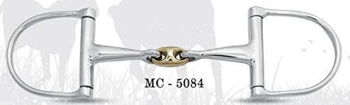 EW Equestrian MC-5084 Pferde-Bit, D-Ring