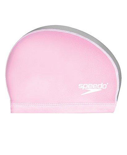 Speedo Unisex-Adult Swim Cap Stretch Fit , Pink, Small/Medium