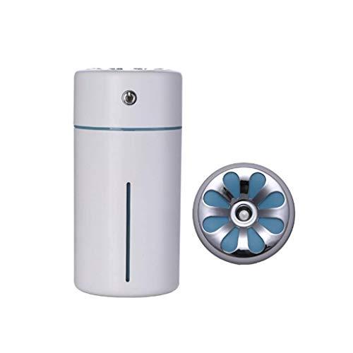 NMBD 360ML Ätherische Öle Diffusoren Ultraschallnebel-Luftbefeuchter Wasserlos automatische Abschaltfunktion for Schlafzimmer Office Küche (Schwarz, Blau, Weiß, Gelb) (Farbe: 3) KAIRUI (Color : 2)