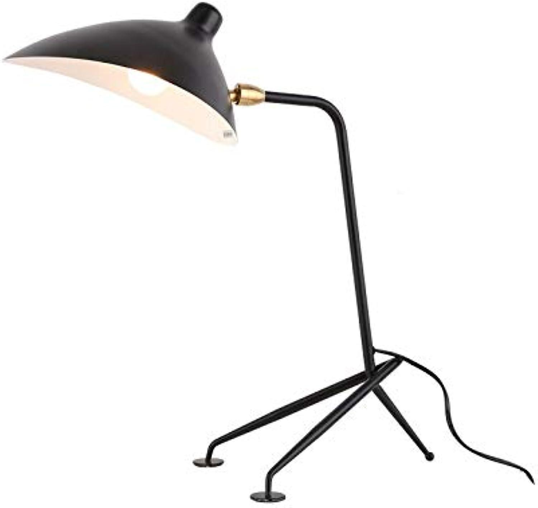 Kreative Tischlampe des Retro- industriellen industriellen industriellen Artschmiedeeisenlesetischtischlohnbüroschlafzimmerwohnzimmers weiß B07LD94876 | Ausgezeichnete Qualität  bd16c3
