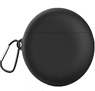 Silicone Case Cover for Huawei FreeBuds 3 Wireless Earbud (Black)