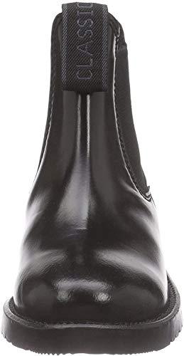 Rhinegold Kinder Klassische Reitstiefel aus Leder schwarz schwarz EU : 29(UK :11)