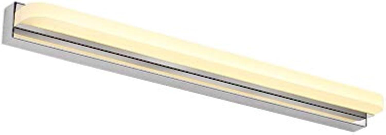 Hai Ying  Spiegelleuchte LED-Anti-Fog-Badezimmer Bad Spiegel Lichter einfache und Moderne Spiegel Schrank Licht warmes Licht (Gre  Long42cm)