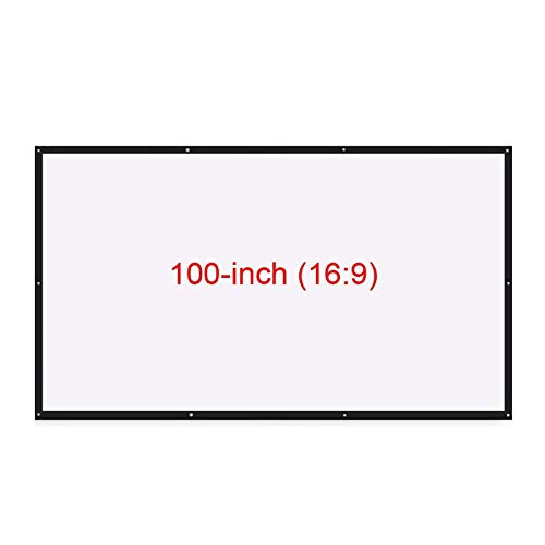 Pantalla del ProyectorPantalla De Proyector Plegable De 100...