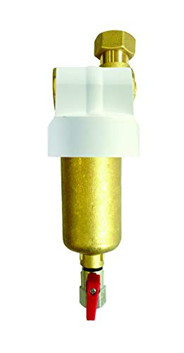 WK Filtro Defangatore Caldaia | Ideale per rimozione di fanghi, residui ferrosi e ossidi dai circuiti di riscaldamento | Magnete potente | Made in Italy