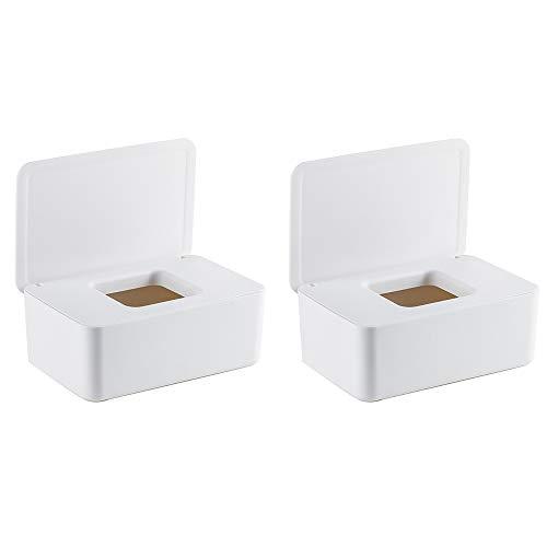 Magiin Feuchttüchter Box Feuchttüchter Aufbewahrungsbox (2 Pcs)