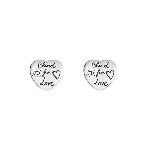 Gucci Damen-Ohrstecker BLIND FOR LOVE 925 Silber - YBD45525500100U