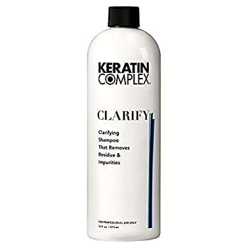 Keratin Complex Clarify Clarifying Shampoo That Removes Residue & impurities, 16 Ounce