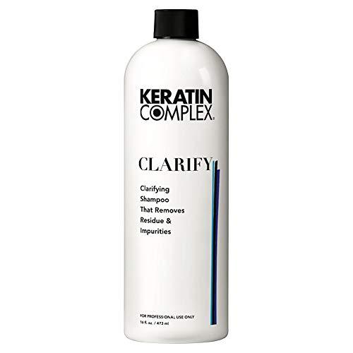 Keratin Complex Clarify, Clarifying Shampoo That Removes Residue & impurities,, 16 Ounce ()