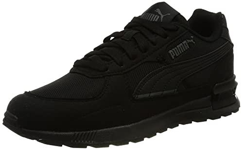 PUMA Graviton, Zapatillas Unisex Adulto, Negro Negro Oscuro Sombra, 40 EU