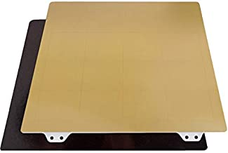 FYSETC Ender 3 Spring Steel Sheet with PEI Magnetic Base Flexible Build Surface Heated Bed Cover 235x235mm/ 9.2x9.2 inch for Ender 3X / Ender 3 Pro/Ender 3 V2/Ender 5 / Ender 5 Pro 3D Printer Parts